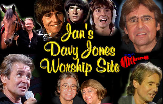 Davy JOnes of the Monkees Worship Site